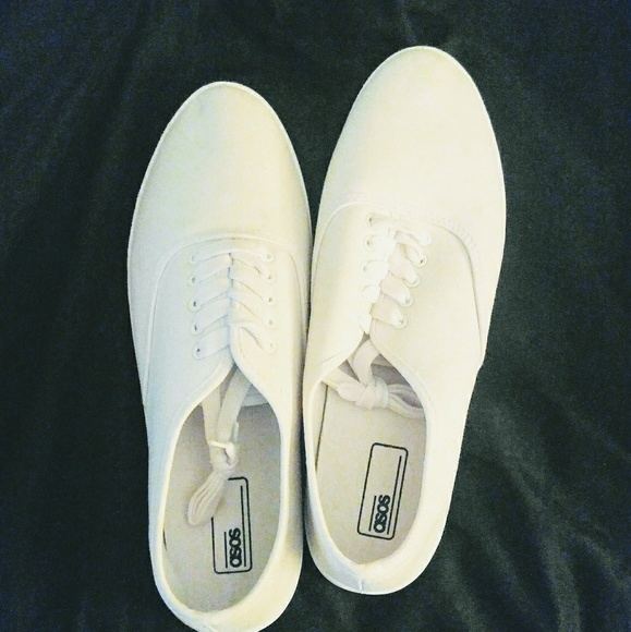 Labor Day Saleasos All White Mens Shoes